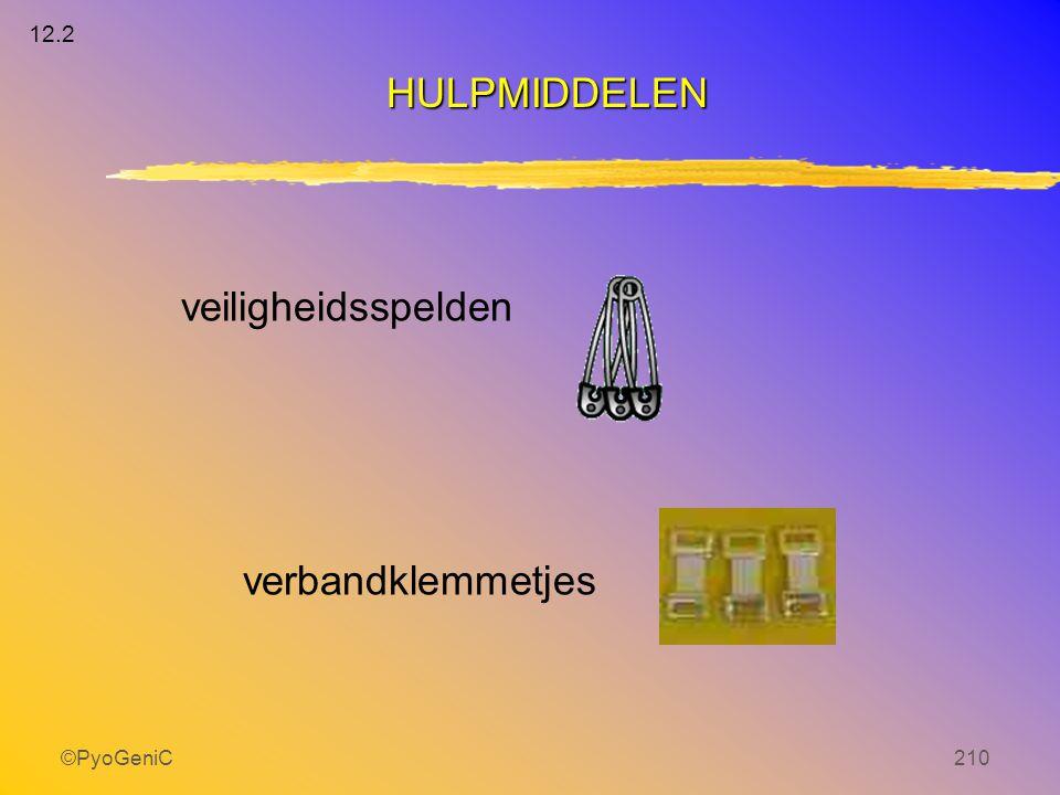 ©PyoGeniC210 veiligheidsspelden verbandklemmetjes HULPMIDDELEN 12.2