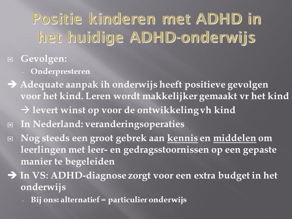  Ouders v kinderen met ADHD: lange weg afgelegd binnen de hulpverlening totdat ze de oplossing vonden  Of ze de goede oplossing vinden voor hun kind met ADHD hangt af van een aantal toevalligheden - Bij multidisciplinaire problematiek is versnippering in het zorgaanbod een bekend gegeven.
