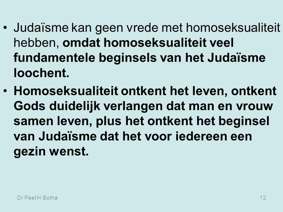 Dr Peet H Botha11 De enige constante uitzondering was de joodse beschaving – en duizend jaar later ook de christelijke beschaving.