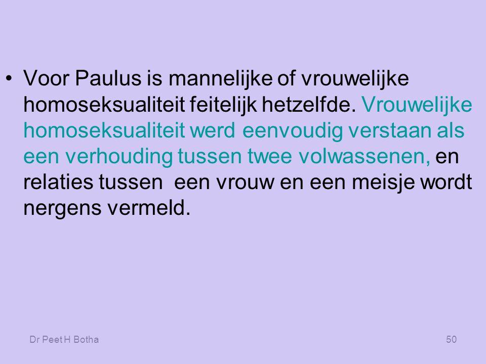 Dr Peet H Botha49 De woorden die vers 26 gebruikt wijzen er tevens op dat het hier gaat om volwassenen.