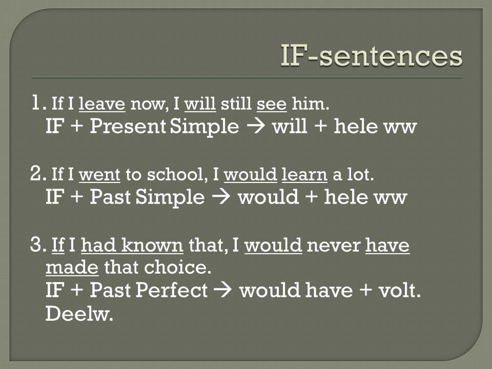 Past Simple : Vb.I walked Gebruik : Iets is in het verleden gebeurd.