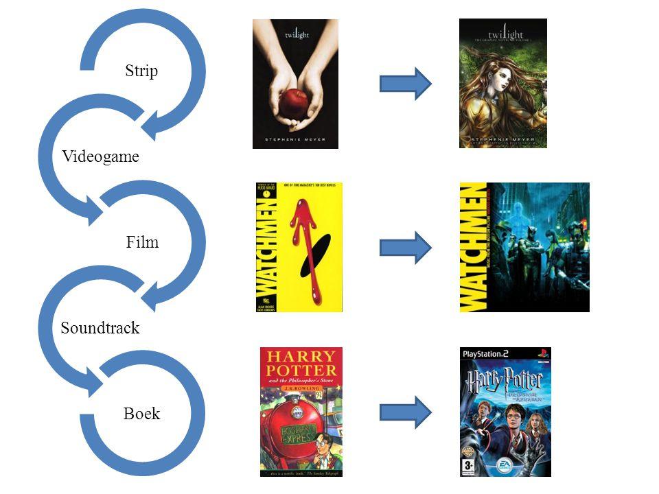 Strip Videogame Film Soundtrack Boek