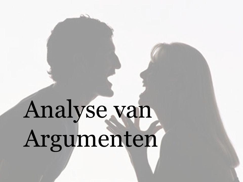 Analyse van Argumenten