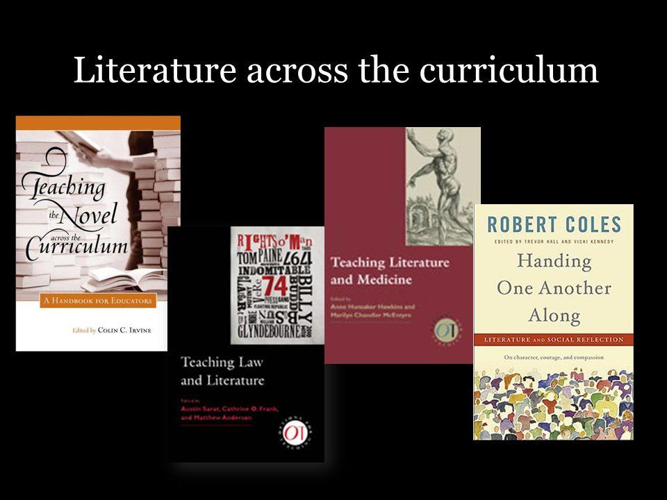 Literature across the curriculum