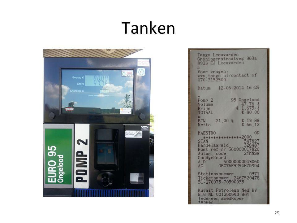 Tanken 29