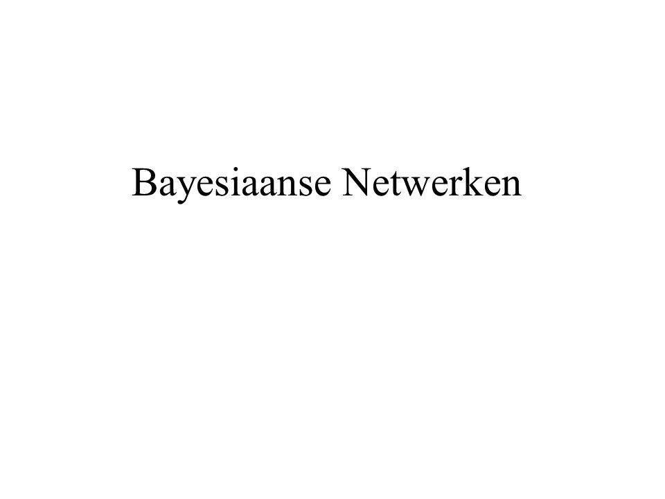 Bayesiaanse Netwerken