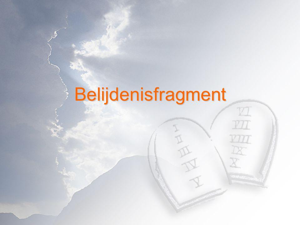Belijdenisfragment