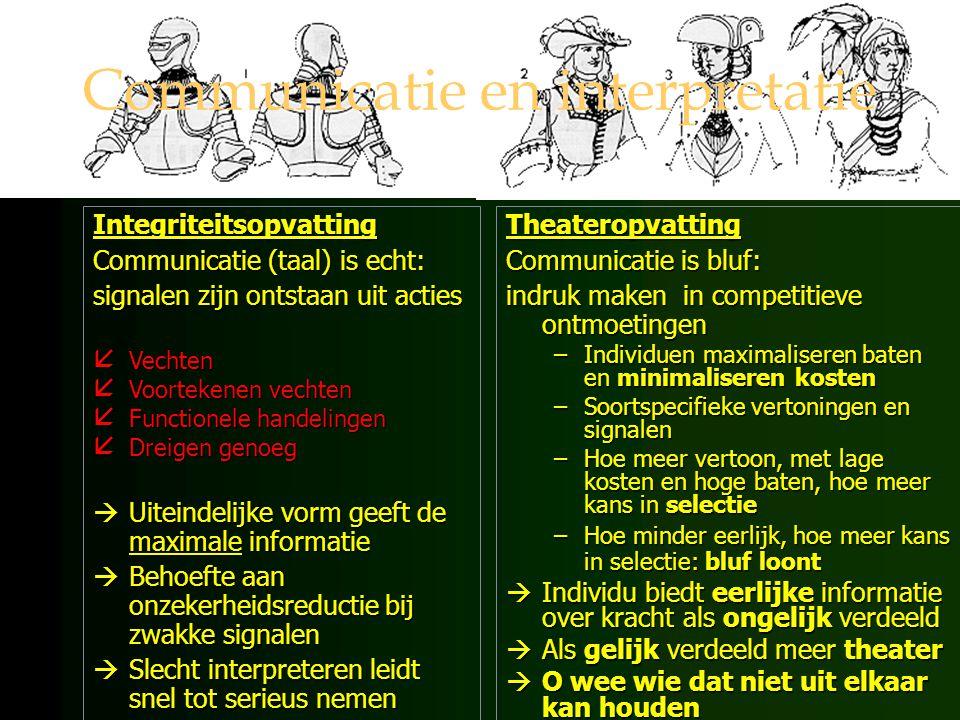 Mentale systemen onbewuste en bewuste interpretatie van emotionele stimuli (ecologische en sociale) interpretatie van cognitieve stimuli (sociale en culturele) planning gedrag beoordelen effecten gedrag
