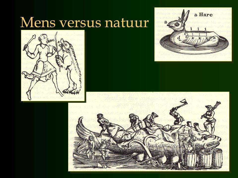 René Descartes Stoffelijke natuur automatisch natuurwetten materieel Geest/bewustzijn/wil overwegingen wilsbesluiten immaterieel Mens heeft unieke plaats tegenover de/zijn/haar natuur