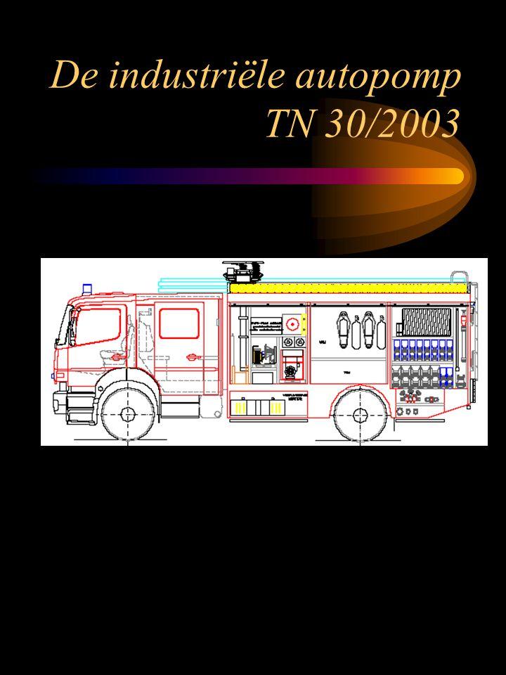 De industriële autopomp TN 30/2003