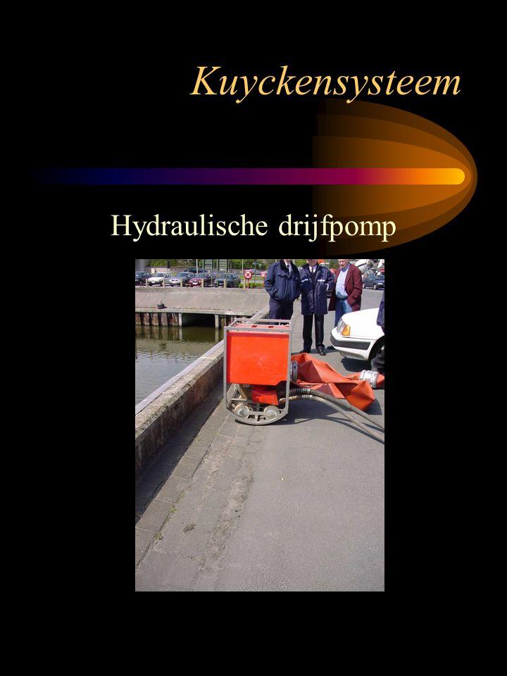 Kuyckensysteem Hydraulische drijfpomp