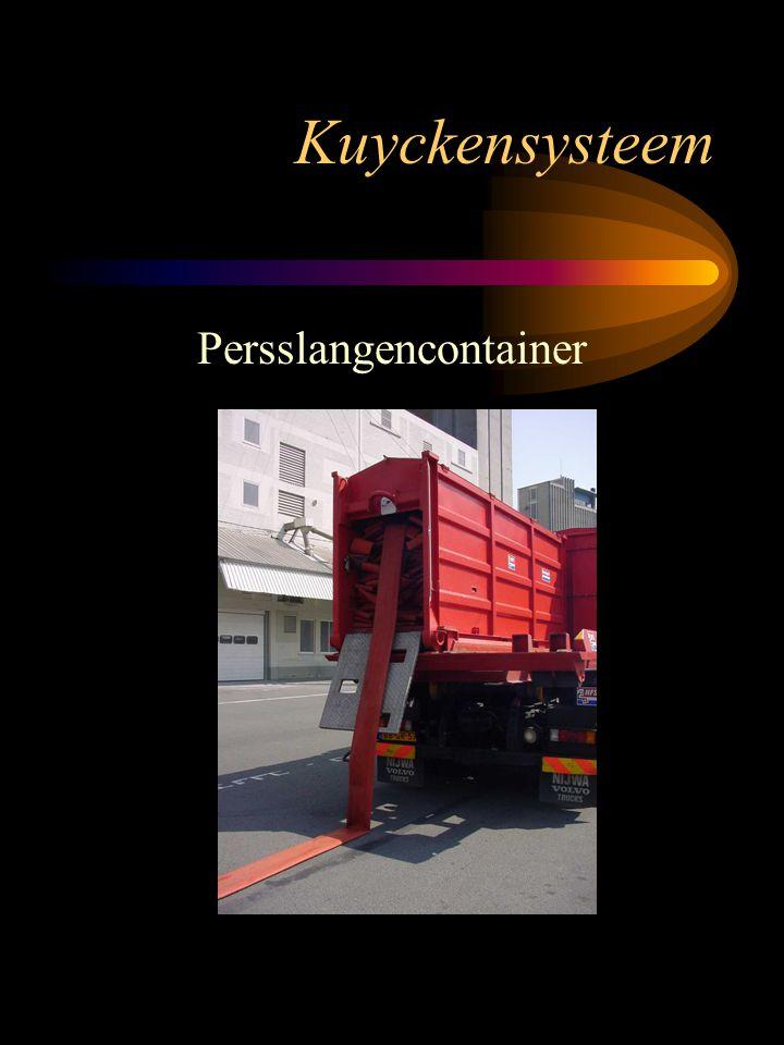 Kuyckensysteem Persslangencontainer