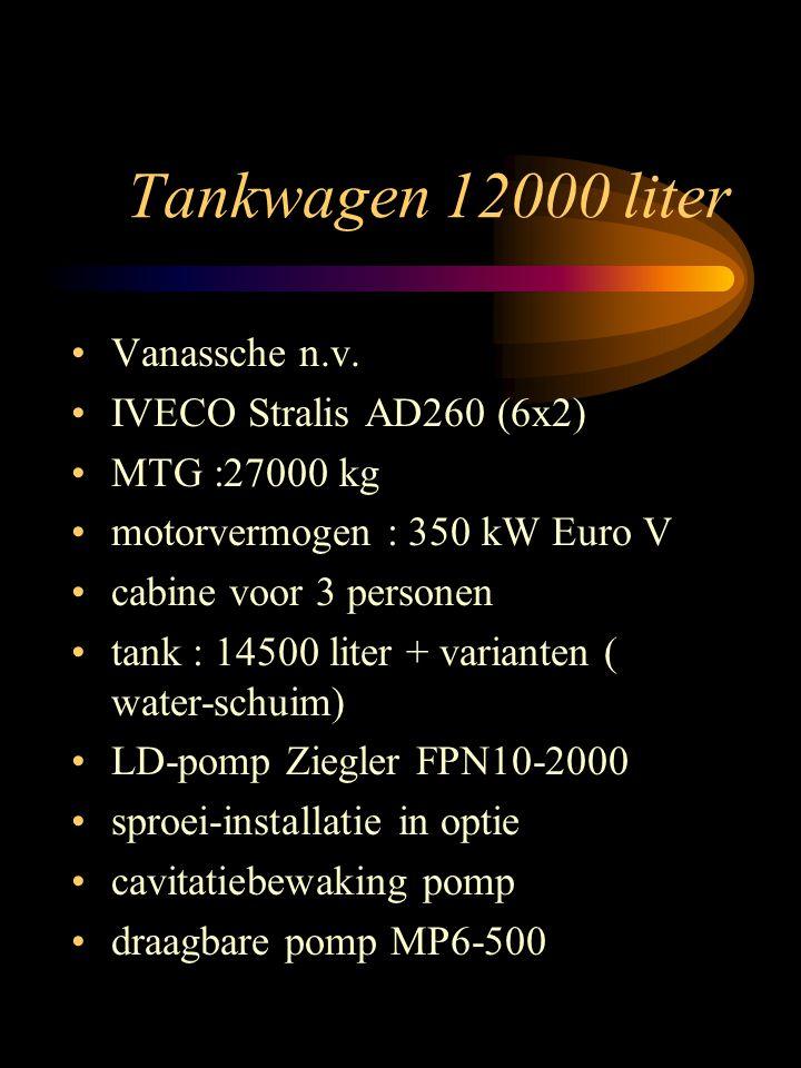 Tankwagen 12000 liter Vanassche n.v.