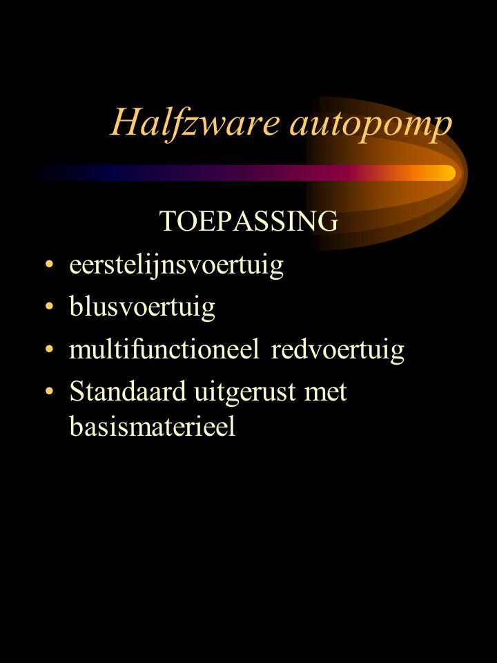 Halfzware autopomp FOD.Bin.