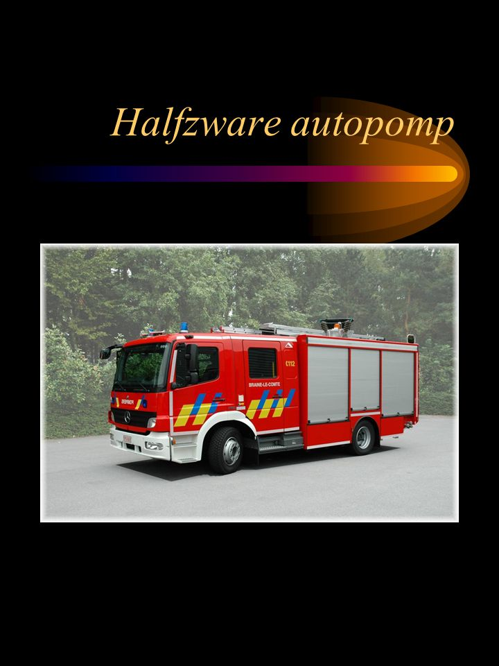 Halfzware autopomp