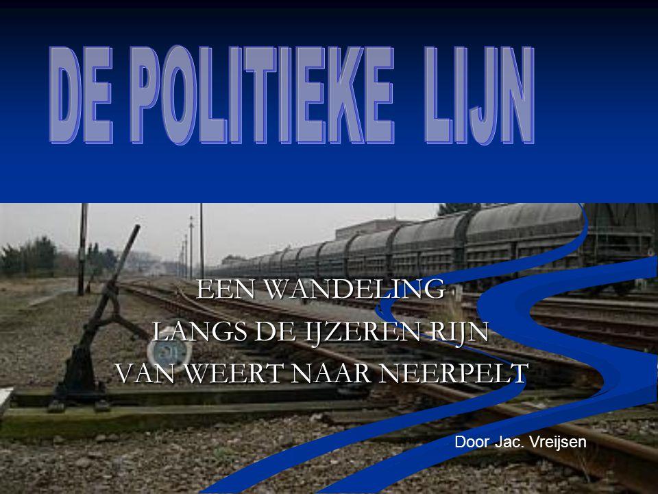 Personenvervoer Neerpelt - Weert Belangrijk voor regio.