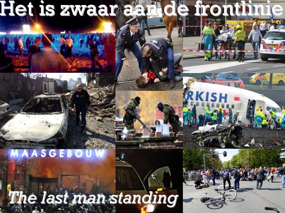 Sheet met foto's: Zwaar aan de frontlinie The last man standing