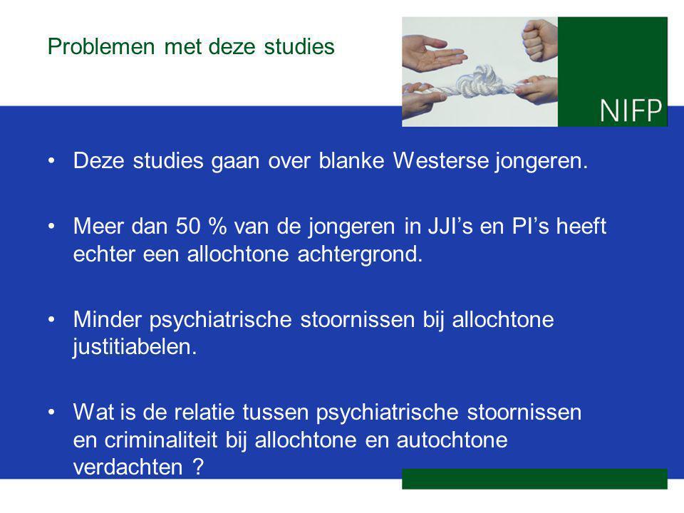 Problemen met deze studies Deze studies gaan over blanke Westerse jongeren.