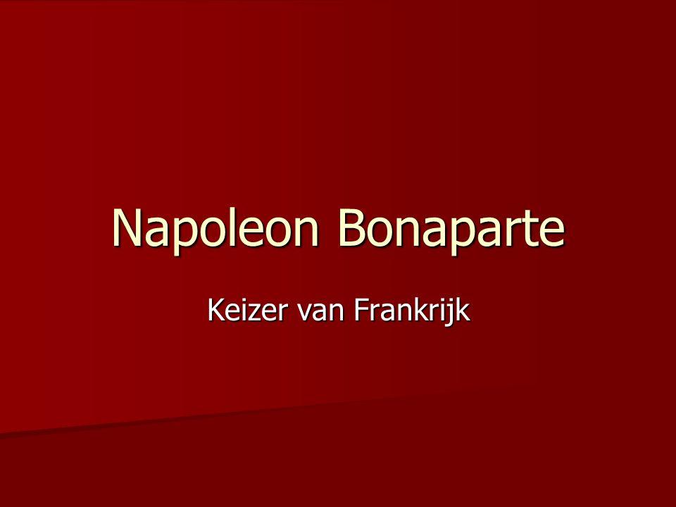 Napoleon Bonaparte Keizer van Frankrijk