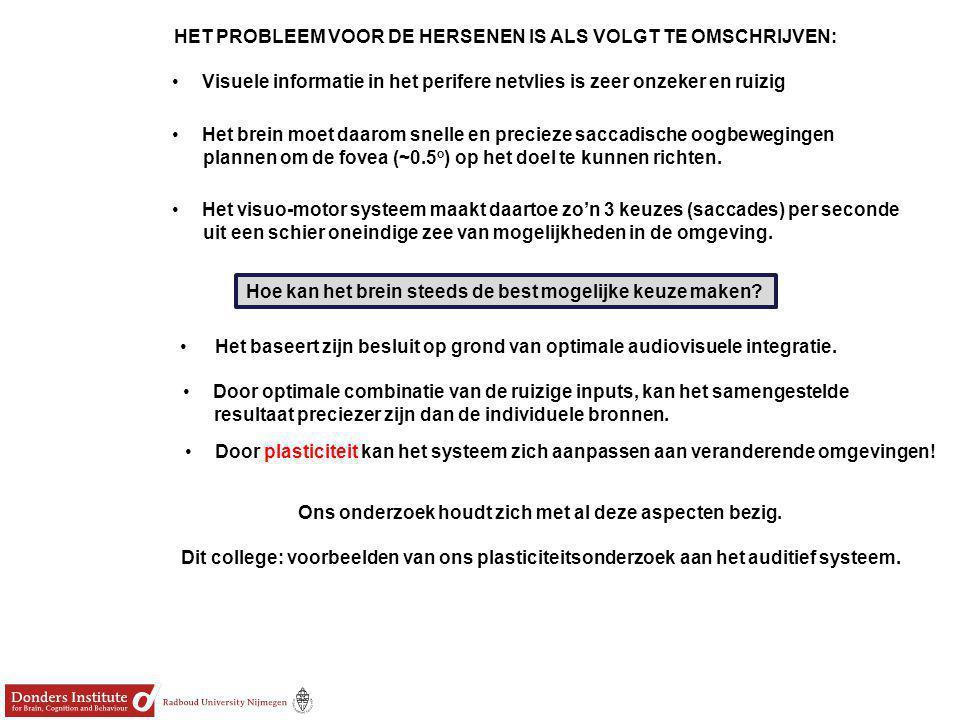 STUDIE 1: Binaurale plastic malletjes om de oorschelp geometrie te verstoren: 'Nieuw oor' Uit Hofman et al.