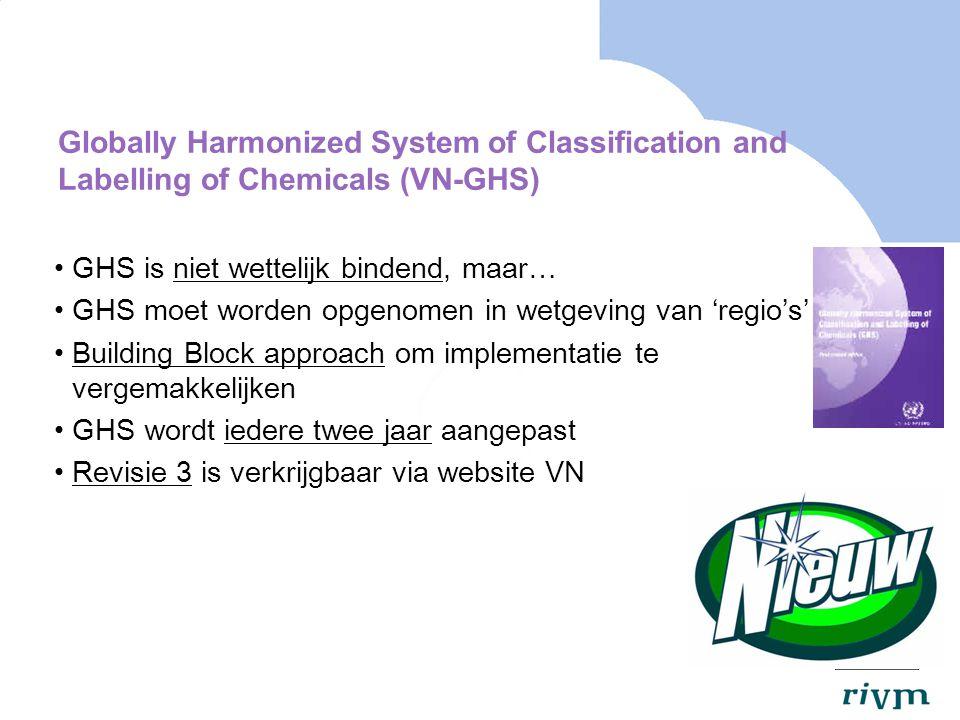 Indeling van mengsels (1) Artikel 6 Inventarisatie en bestudering van de over mengsels beschikbare informatie