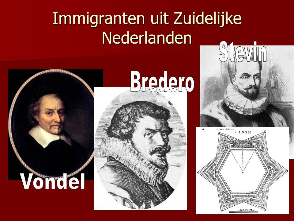 Immigranten uit Zuidelijke Nederlanden