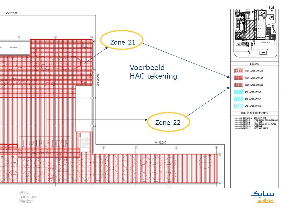13 1.1.1 06101 – 1 e verdieping extrusievloer k-lijnen Zone 06101 omvat de aftappunten van specials 1 en 2. Een ruimte met een straal van 3 meter om d