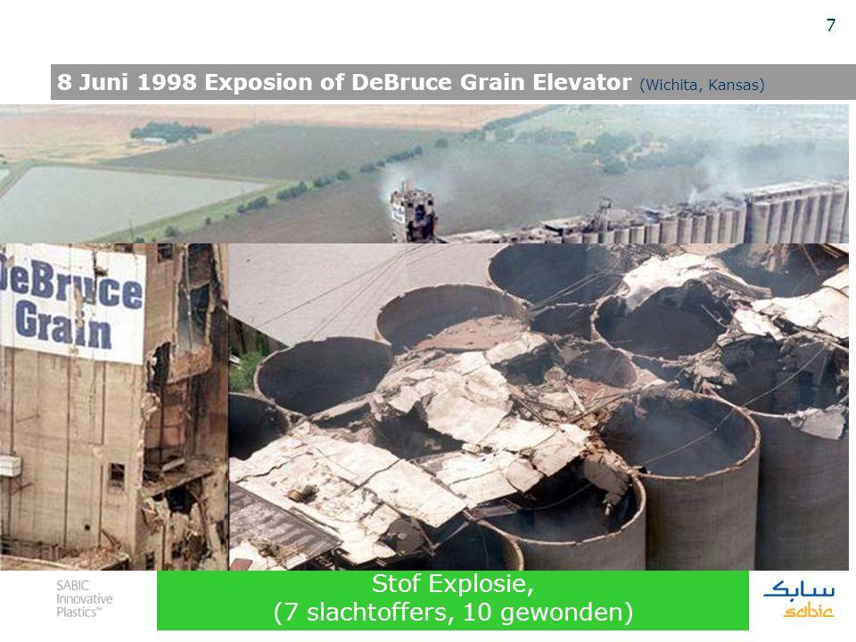 6 Onvoldoende aarden van de ontluchtings slang en ongeschikt, niet-geleidend materiaal 2003, Washington Site, Bulk Laadstation