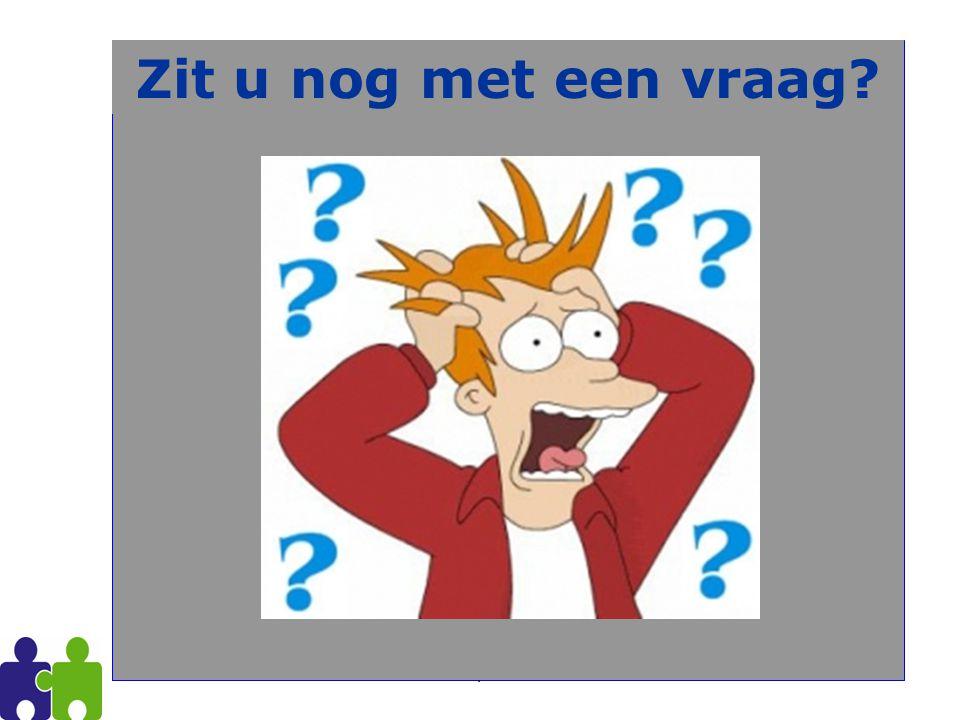 PVOC Antwerpen 2011-201262 Zit u nog met een vraag?