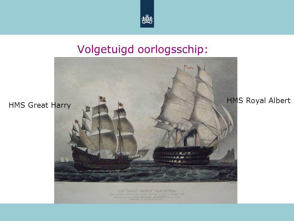 Volgetuigd oorlogsschip: HMS Royal Albert HMS Great Harry
