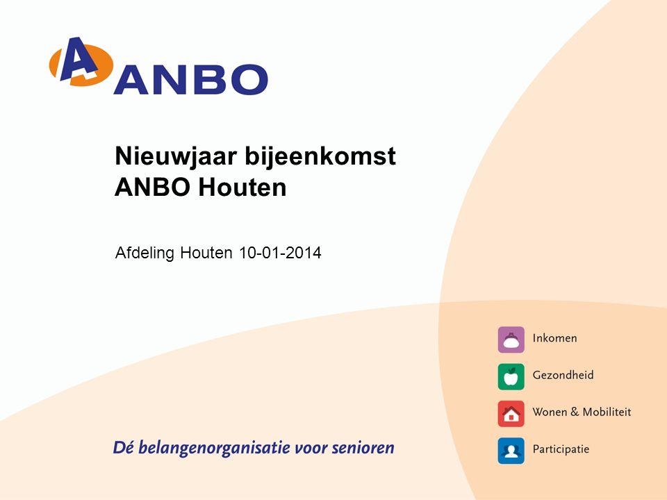 Nieuwjaar bijeenkomst ANBO Houten Afdeling Houten 10-01-2014