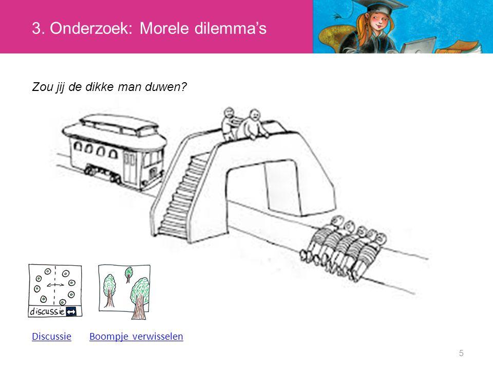 6 4.Afronding Heb je nu een antwoord voor het morele dilemma van de trein.