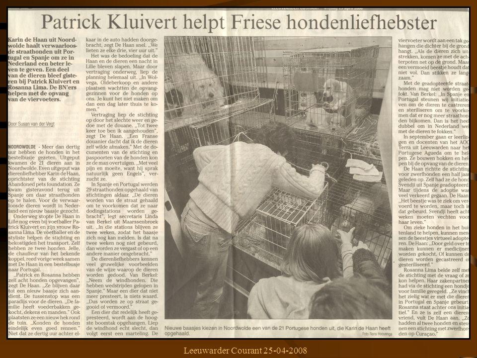 Leeuwarder Courant 25-04-2008
