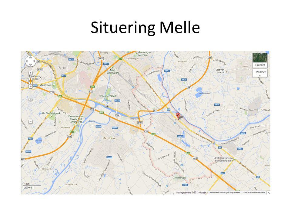 Gelegen ten zuid-oosten van Gent Grenst aan Heusden, Wetteren, Oosterzele, Merelbeke en Gent Gemakkelijke verbinding door R4, N9 (Brusselsesteenweg) en E40 Grenst aan Schelde en word doorkruist door Ringvaart