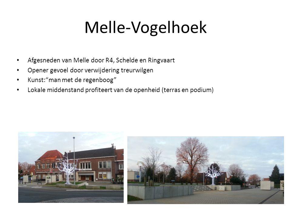 Brouwerij Huyghe DE brouwerij van Melle, nog steeds in Melle Werkgelegenheid In het midden van gemeentelijk centrum Beperkte mogelijkheid tot uitbreiding Goede verbinding met E40 en R4 Buurtoverlast (geur)