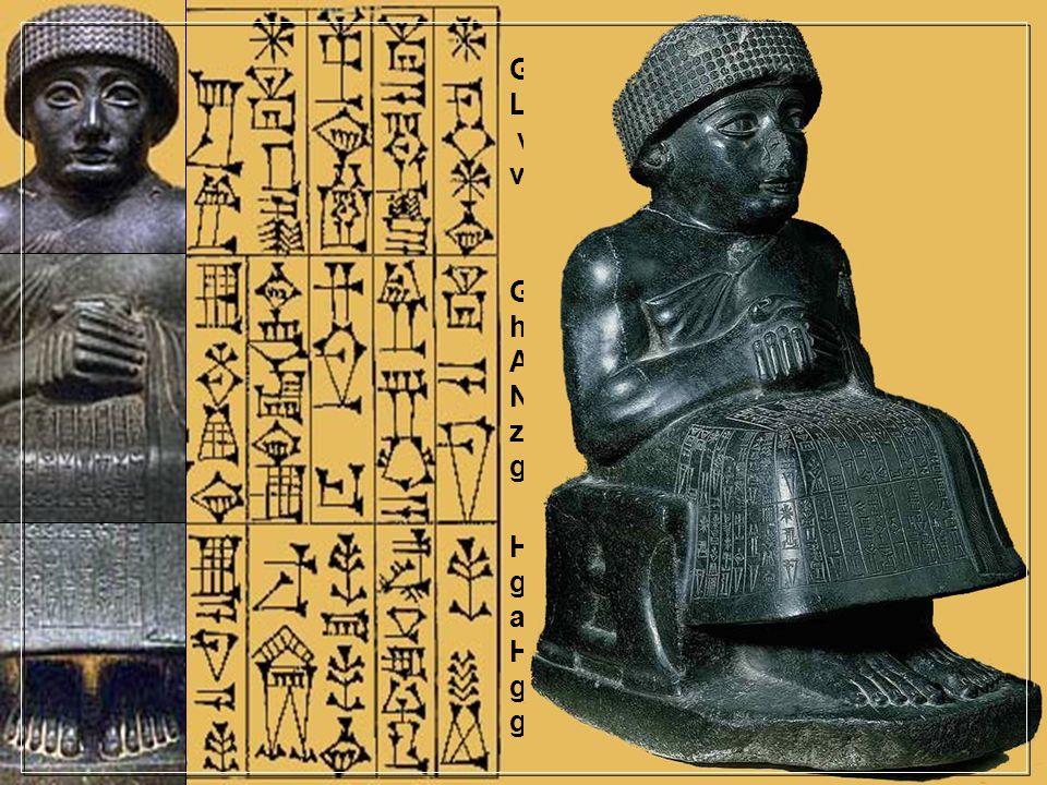 Gudea, heerser over de stad Lagash, de man die de tempel van Ningishzida en de tempel van Geshtinanna heeft gebouwd Gudea, heerser over de stad Lagash
