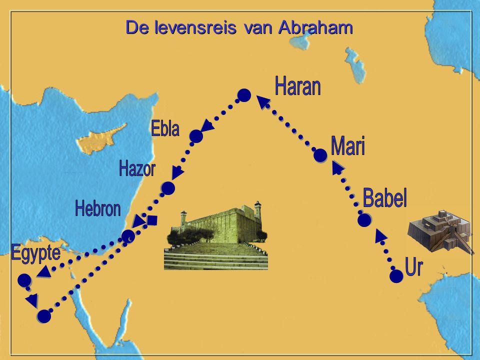 De levensreis van Abraham