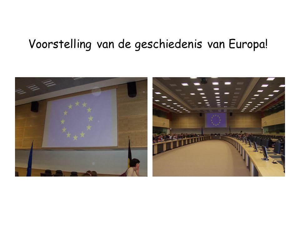 Voorstelling van de geschiedenis van Europa!