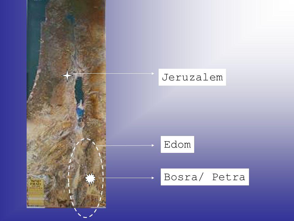 Edom Bosra/ Petra Jeruzalem