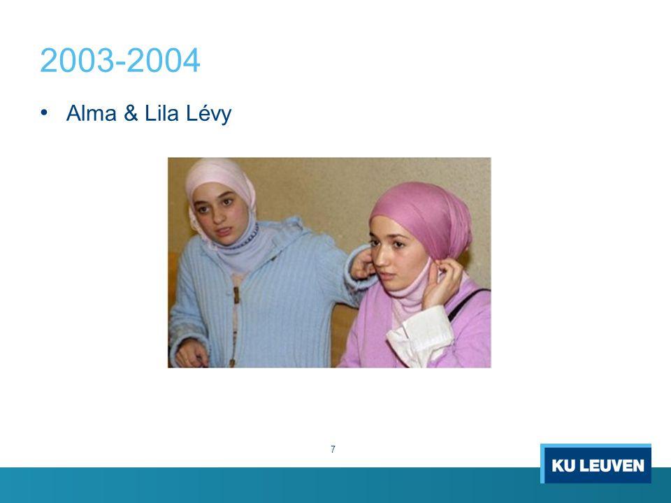 2003-2004 Alma & Lila Lévy 7