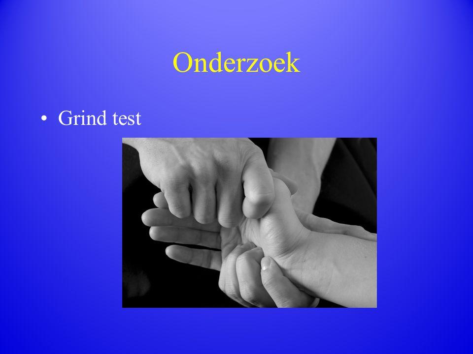 Onderzoek Grind test