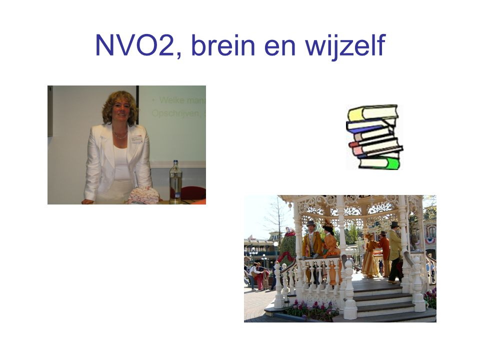 NVO2, brein en wijzelf
