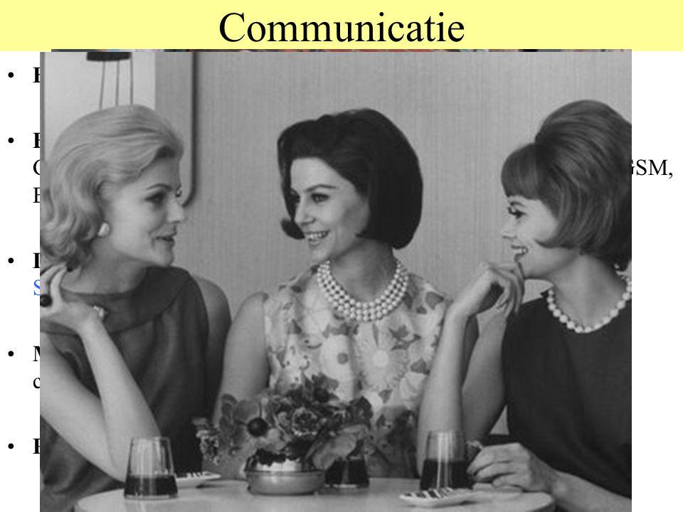 © 2012 JP van de Sande RuG Communicatie Bij dieren: Signaalsystemen, Vlooien, Grommen, Bij mensen: Taal, Gesprekken, Roddelen, Bijpraten, Brieven, Ged