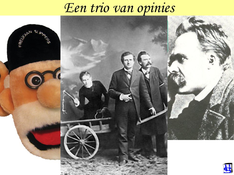 Een trio van opinies Weiβ nicht, woll auch nicht wissen Die Frau ist ein Rätsel, und die Lösung heiβt: Kind Er is niets op de wereld wat zo op een vro