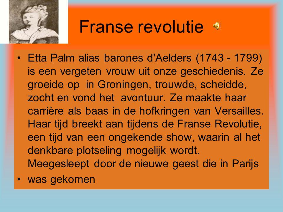 \ Er is ook een boek uit gekomen van de Franse Revolutie dat boek is van P.F.
