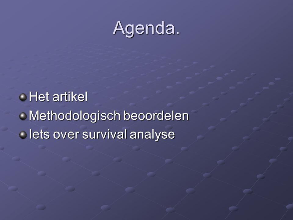 methodologisch beoordelen 7.valide en betrouwbare instrumenten.