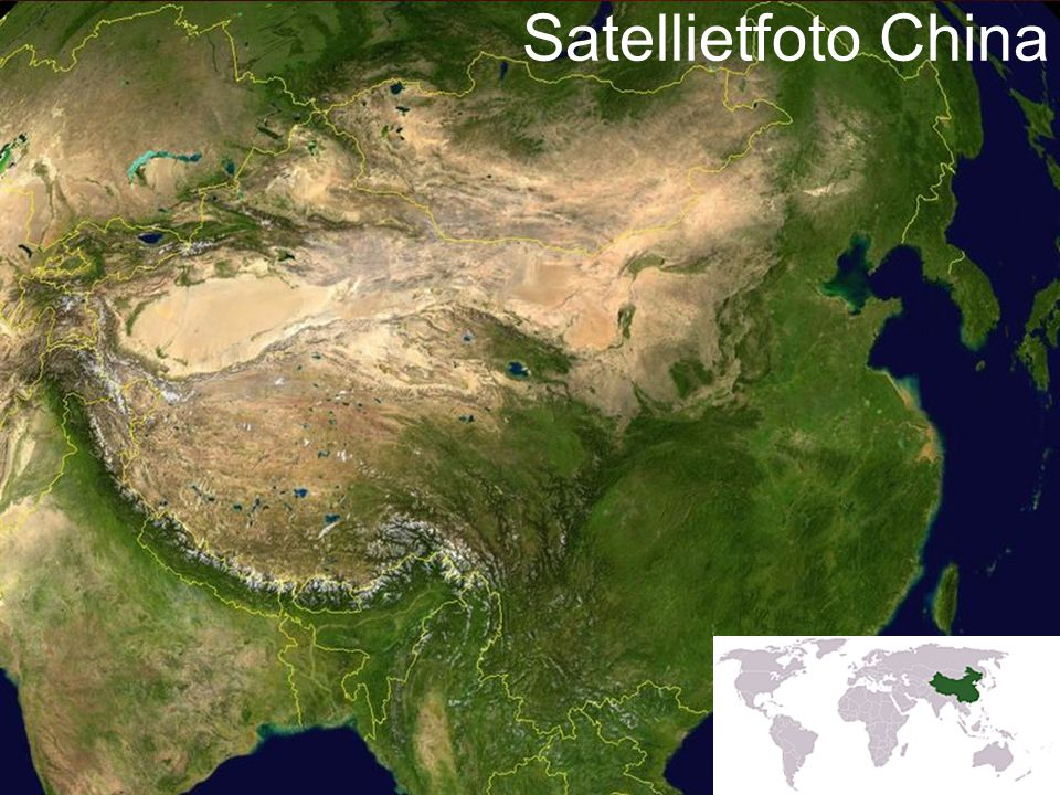 5 Satellietfoto China