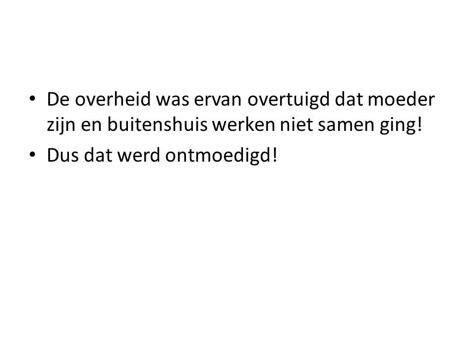 Veel vrouwen in Nederland hebben een deeltijdbaan.
