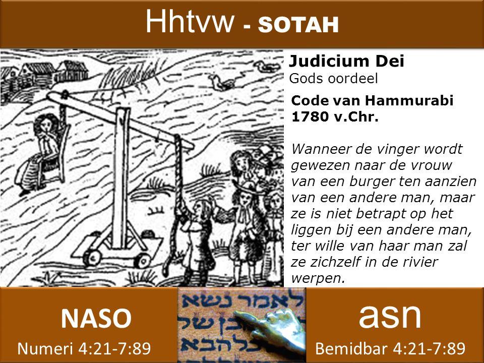 NASO asn Numeri 4:21-7:89 Bemidbar 4:21-7:89 NASO asn Numeri 4:21-7:89 Bemidbar 4:21-7:89 Judicium Dei Gods oordeel Hhtvw - SOTAH Code van Hammurabi 1780 v.Chr.