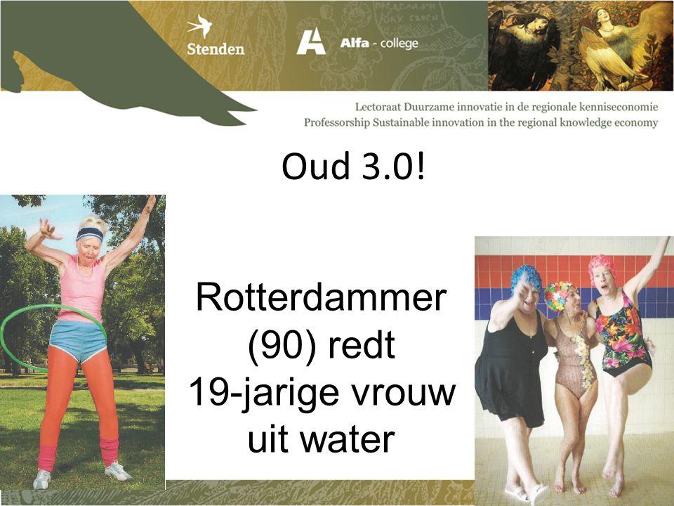 Oud 3.0! Rotterdammer (90) redt 19-jarige vrouw uit water
